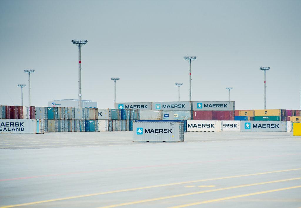 Jade Weser Port - Containerhafen